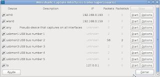 Imagen de sniffear puerto USB con Wireshark