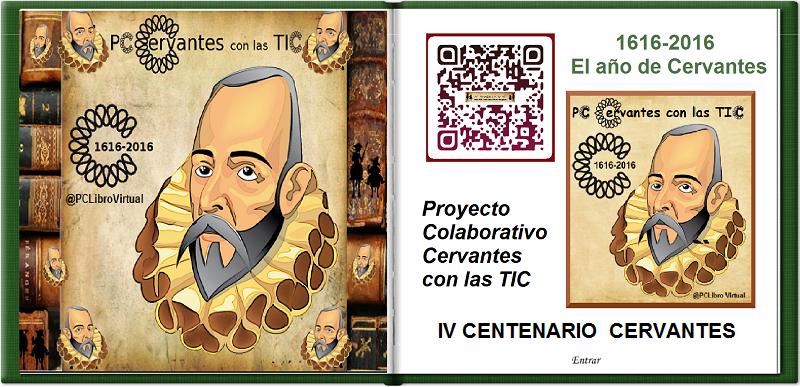 IV Centenario de Cervantes.