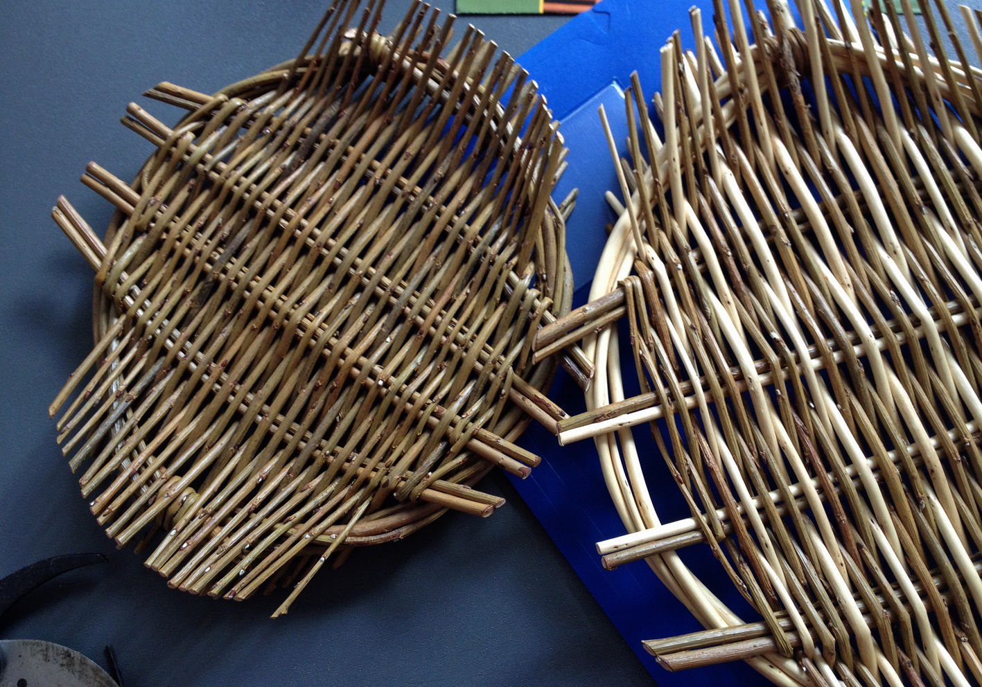 Simple Basket Weaving Willow : Musings in the moment wonderful willow weaving work