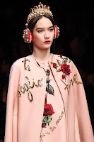 Dolce & Gabbana AW15 x Frends Embellished Tiara Headphones | Photo: Marcus Tondo / Indigitalimages.com