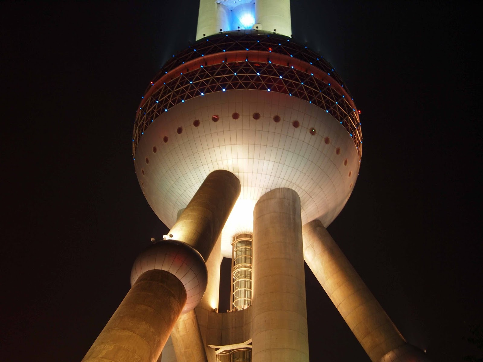 Top Of The World Oriental Pearl Tower