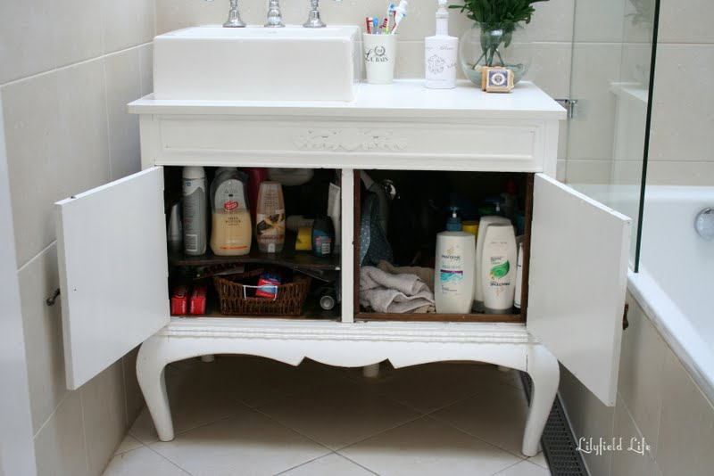 Bathroom Vanities Qld lilyfield life: turning vintage furniture into a bathroom vanity