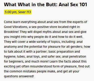 Steps in anal sex