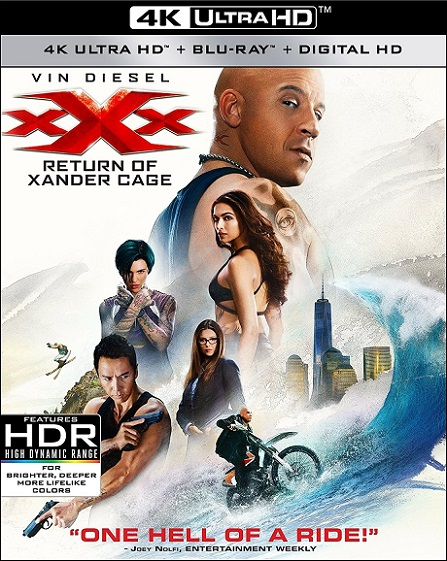 xXx: Return of Xander Cage 4K (2017) 2160p 4K UltraHD HDR BluRay REMUX 55GB mkv Dual Audio Dolby TrueHD ATMOS 7.1 ch