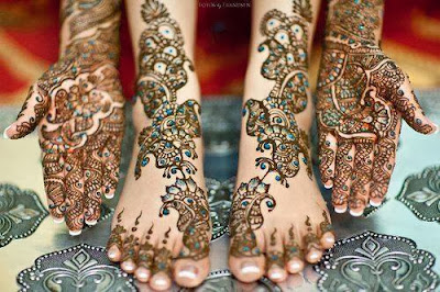 Latest Updates Foot Mehndi Designs October 2013
