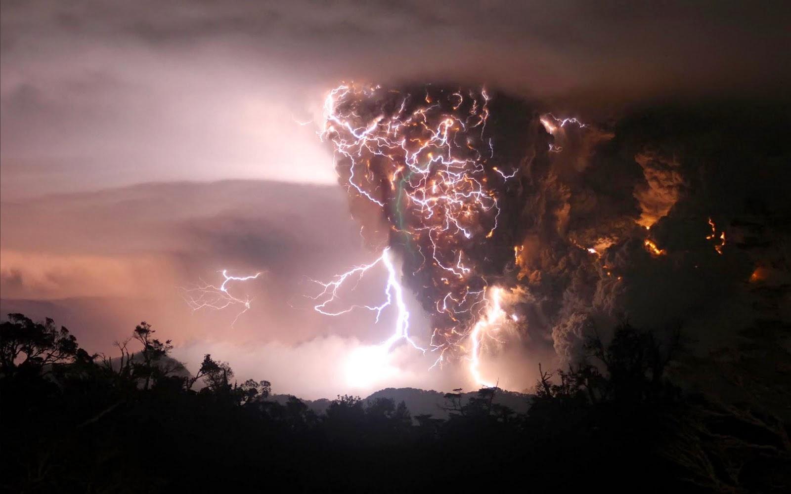 Lightning Evening
