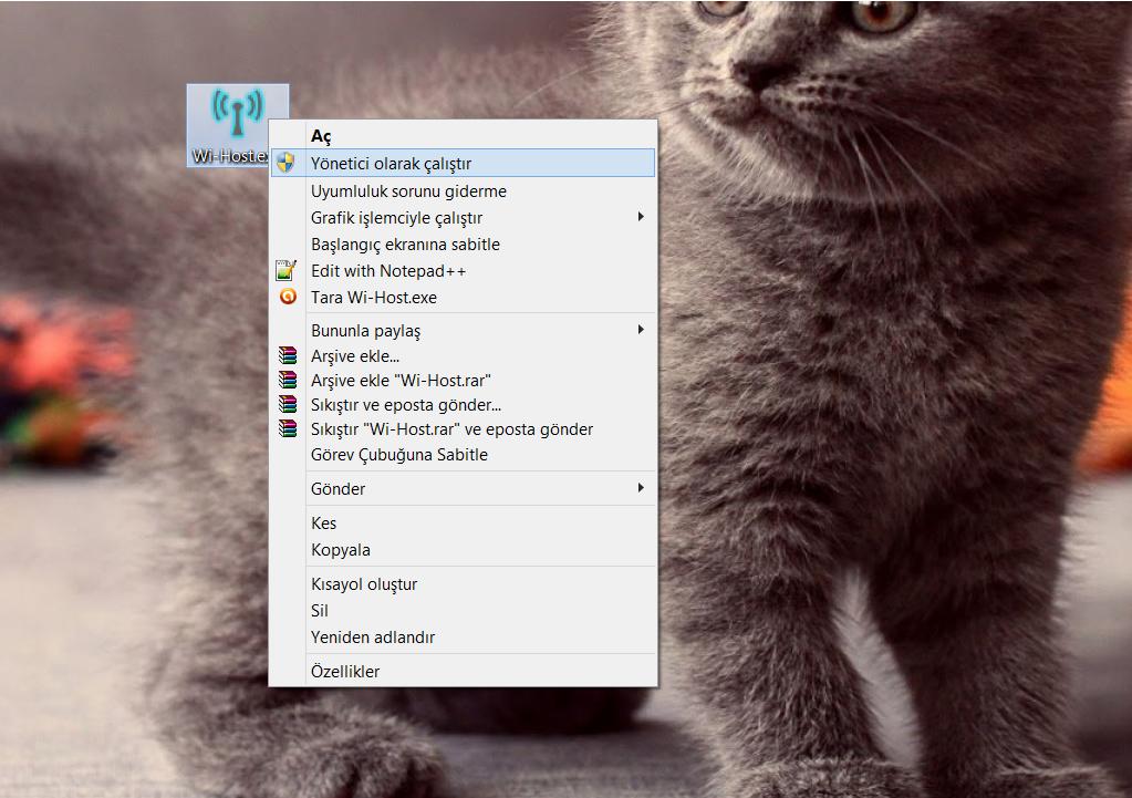 Wi-Host Kullanımı Görsel 1