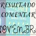 [RESULTADO] TOP Comentarista Novembro