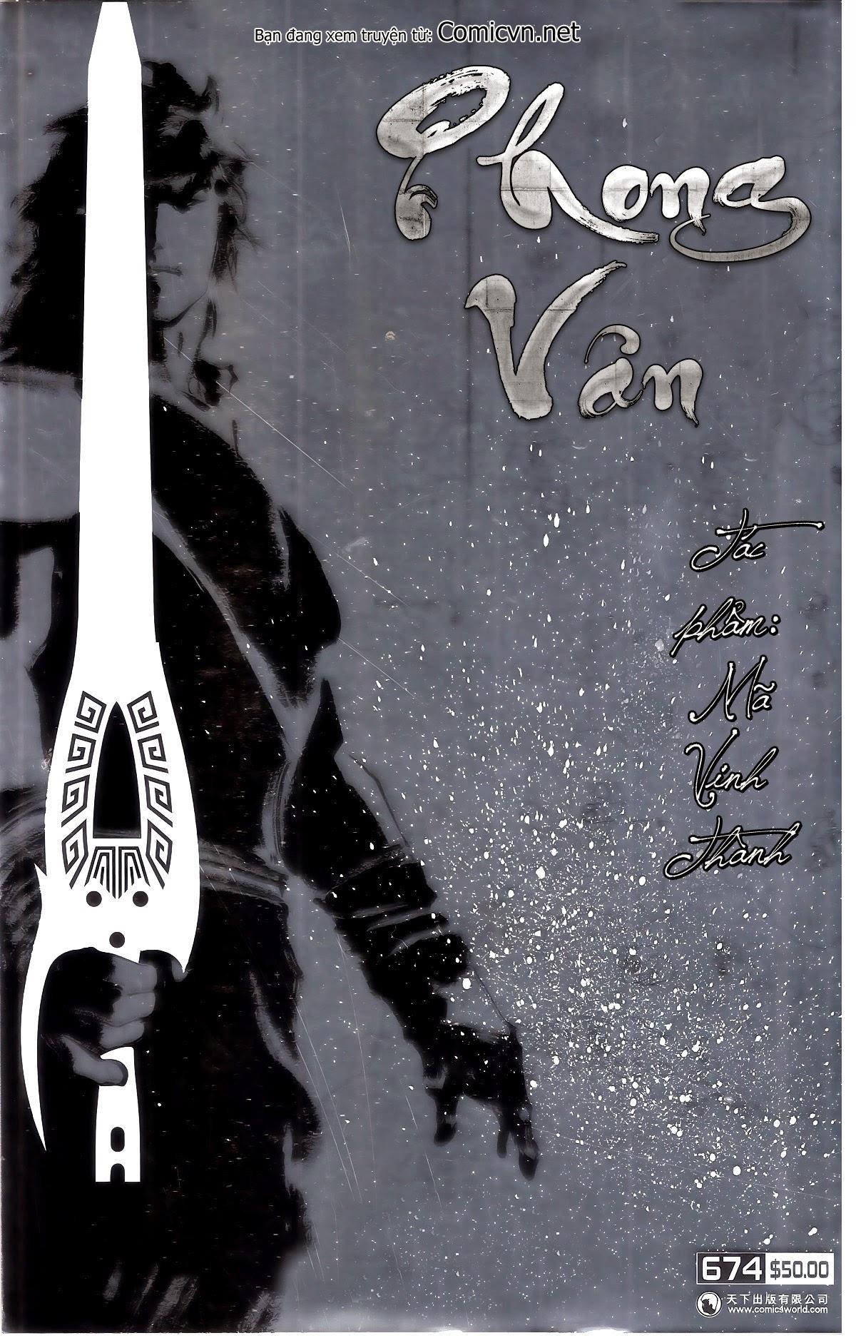 Phong Vân chap 674 – End Trang 1 - Mangak.info