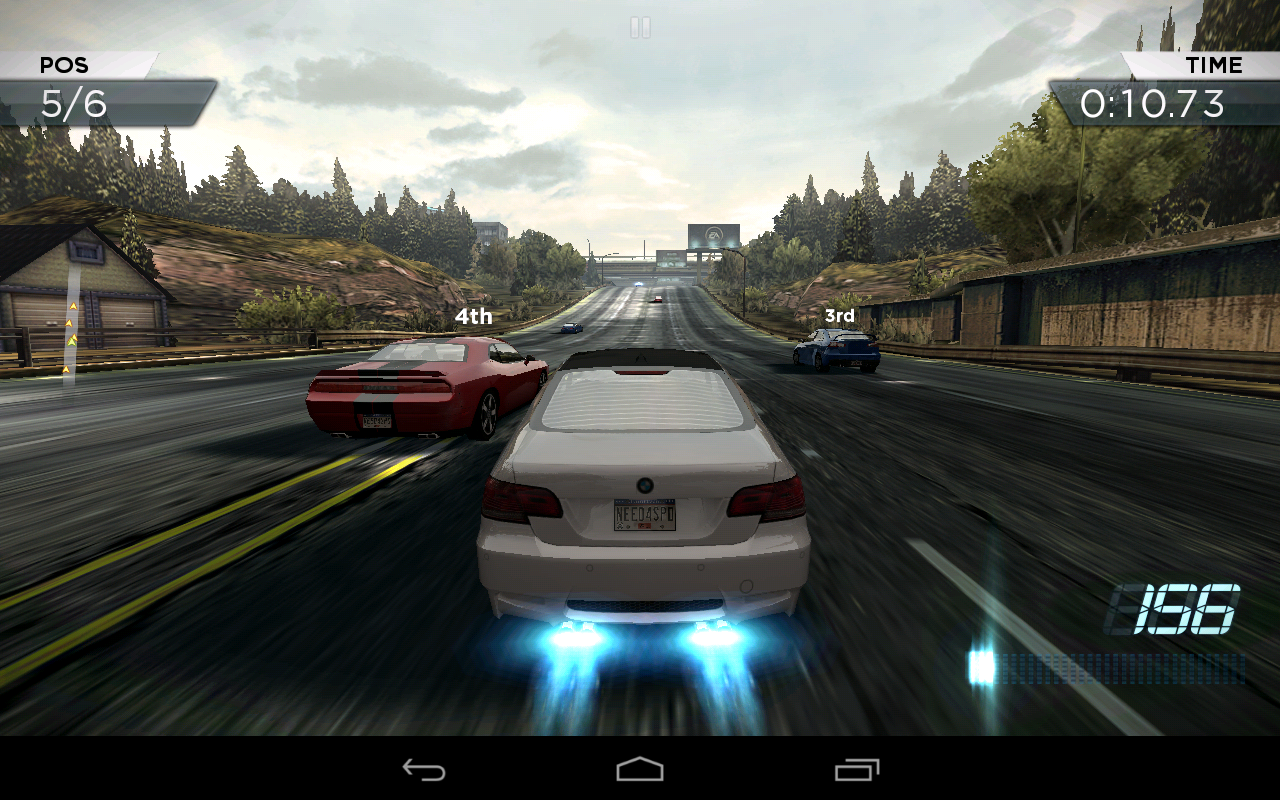 скачать игру на андроид need for speed most wanted