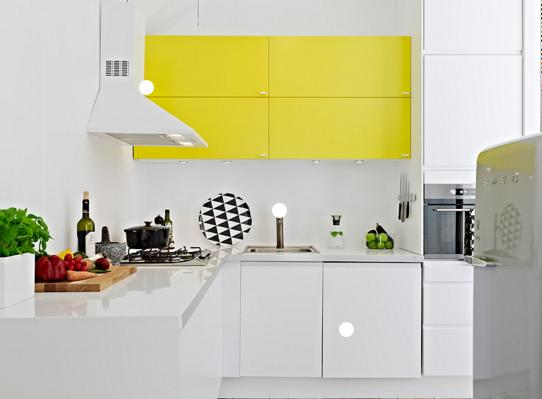 Värikkäitä keittiöitä