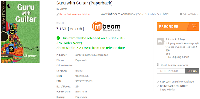 order_quote_vikrmn_guru_with_guitar_gwg_novel_vikrmn_infibeam_tune_play_repeat_chartered_accountant_ca_author_srishti_vikram_verma_tpr