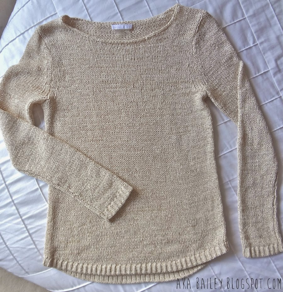 Oatmeal Dalia sweater