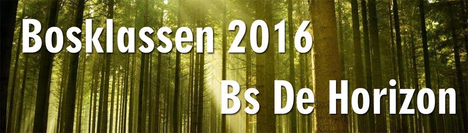 Bosklassen 2016