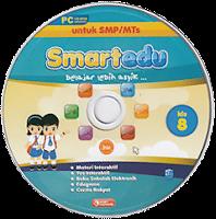toko buku rahma: buku CD PEMBELAJARAN SMART EDU, untuk kelas 8 smp