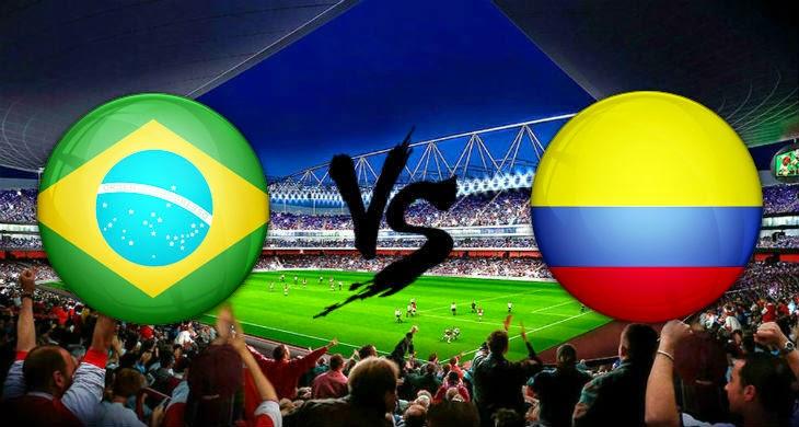 Prediksi Bola Brasil vs Kolombia 6 September 2014