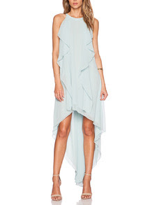 http://www.shein.com/Blue-Halter-Ruffle-High-Low-Dress-p-210264-cat-1727.html