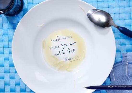 anúncios minimalistas e criativos na internet - Pilot