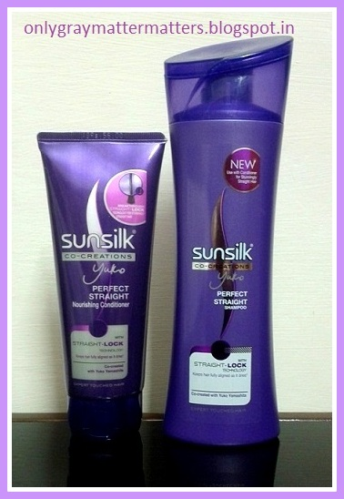 Sunsilk Straight Lock Shampoo and Conditioner Review
