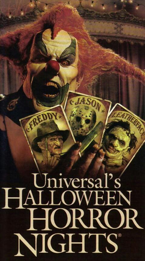 halloween horror nights xvii carnival of carnage 2007 - Halloween Horror Night Theme
