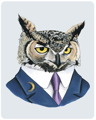 Berkley Illustration's owl
