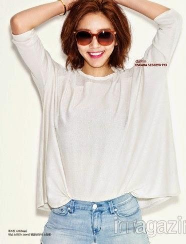 Son Dam Bi - Harper's Bazaar Magazine April Issue 2014
