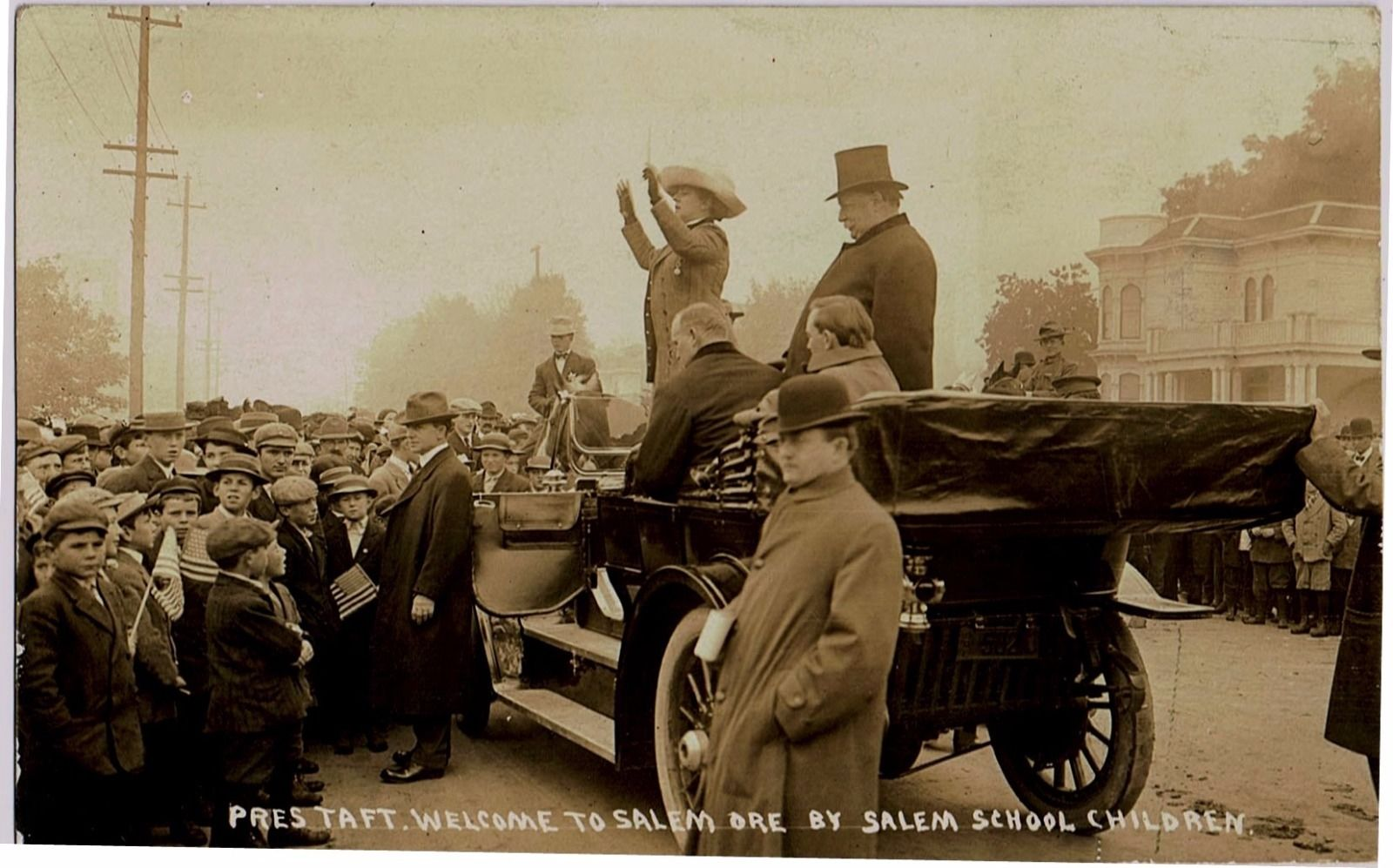 President Taft and his Secret Service men