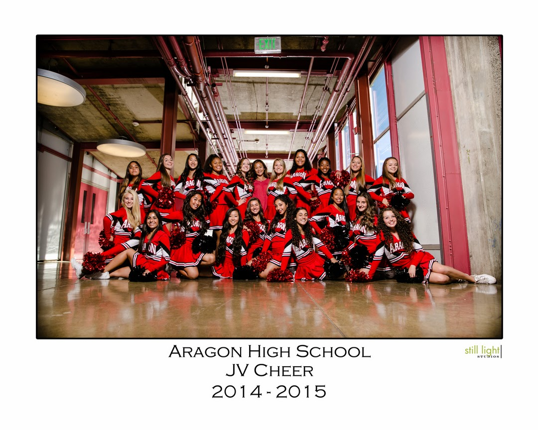 San Mateo Aragon High School Cheer Team Photo by Still Light Studios, School Sports Photography and Senior Portrait in Bay Area, cinematic, nature