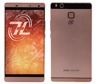 ZH&K Mobile Evo Announced, 64-bit Quad Core LTE Fingerprint Sensor