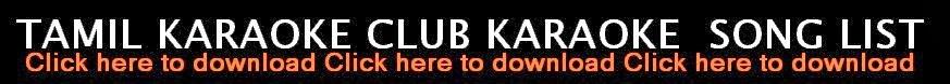 Tamil karaoke 2014 - Free List