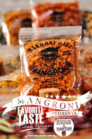 Makaroni Pedas Mangroni Rasa Keju Banget