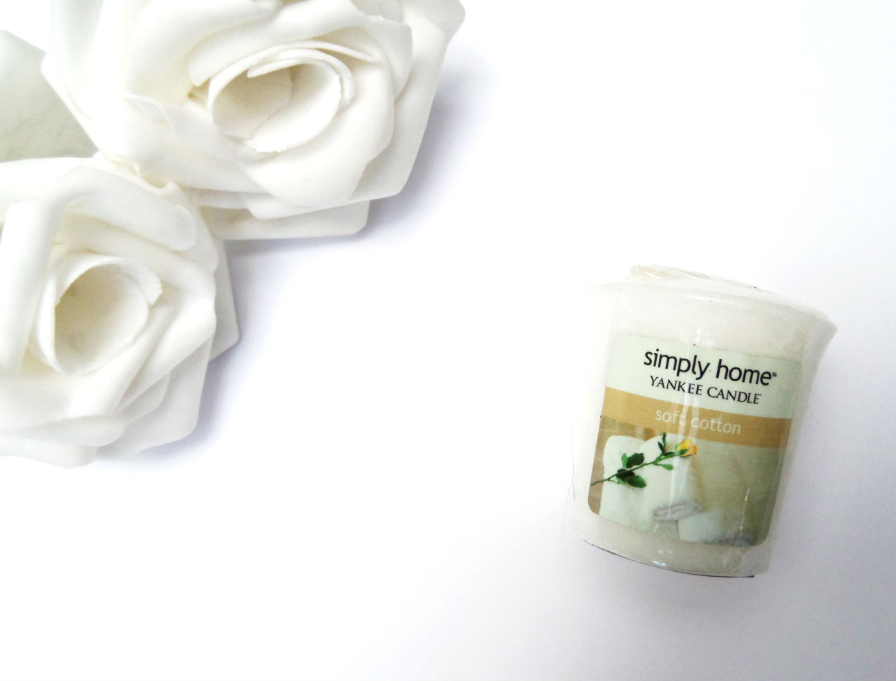 Yankee Candle Simply Home Soft Cotton Review