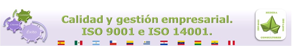 CALIDAD Y GESTIÓN EMPRESARIAL. ISO 9001 e ISO 14001