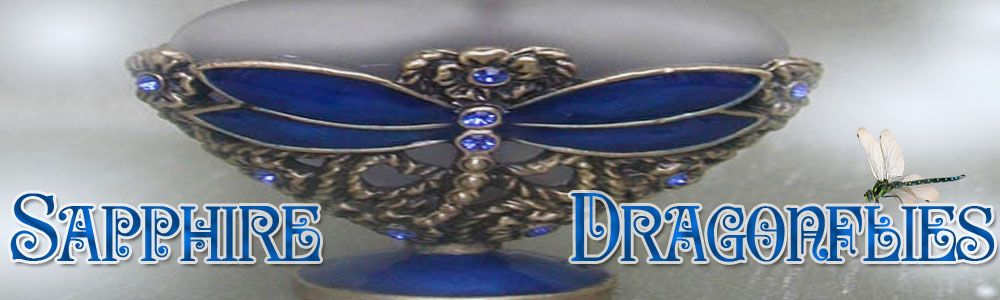 Sapphire Dragonflies