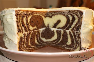 Как сделать зебру торт рецепт