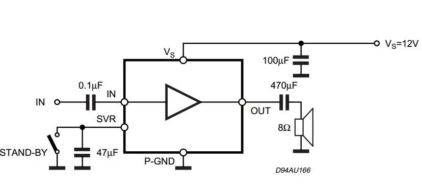 2w mono amplifier