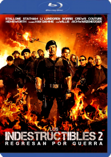 Los Indestructibles 2 (2012) DVDRip Latino