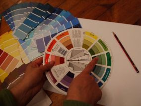 interior design color wheel for decorating ideas