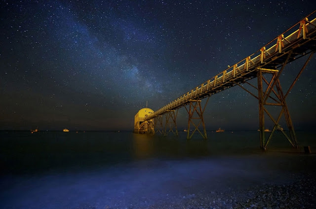 The Summer Milky Way, Selsey Bill, West Sussex