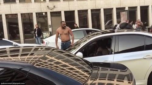 Video Di London Pertengkaran Antara 2 Pemandu BMW Berakhir Mengerikan