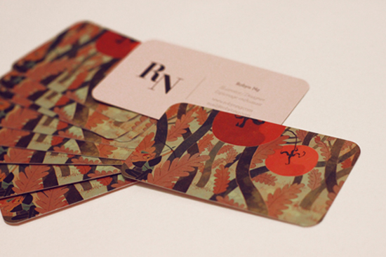 illustrator business cards with round corners printed by gotprint