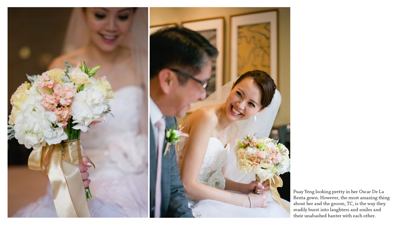 wedding photography singapore capella happy bride