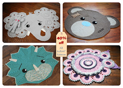 Black Friday to Cyber Monday Crochet Pattern Special Sale