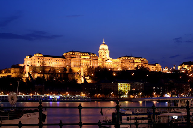 Buda Castle is located on the Buda side of the Danube in Hungary. Photo: Property of EuroTravelogue™. Unauthorized use is prohibited.