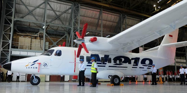 Indoneisa Tawarkan Pesawat Terbang N219 Produksi PT DI untuk Laos