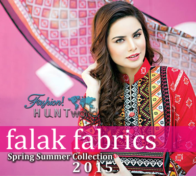 Falak Fabrics Spring Summer Collection 2015