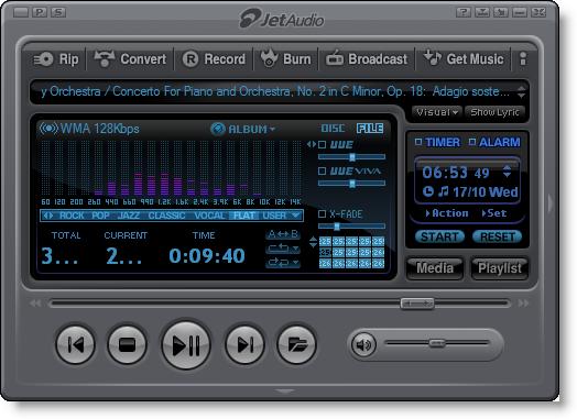 Jet Audio 8.1.1 Plus VX Terbaru