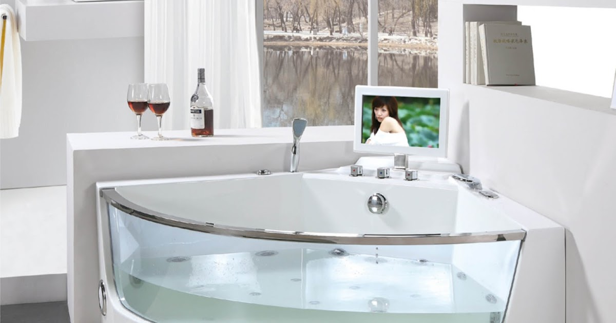 Decora hogar tinas modernas para decorar tu ba o v deo for Como disenar un bano