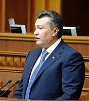 Фото Укринформ:Янукович в Верховной Раде
