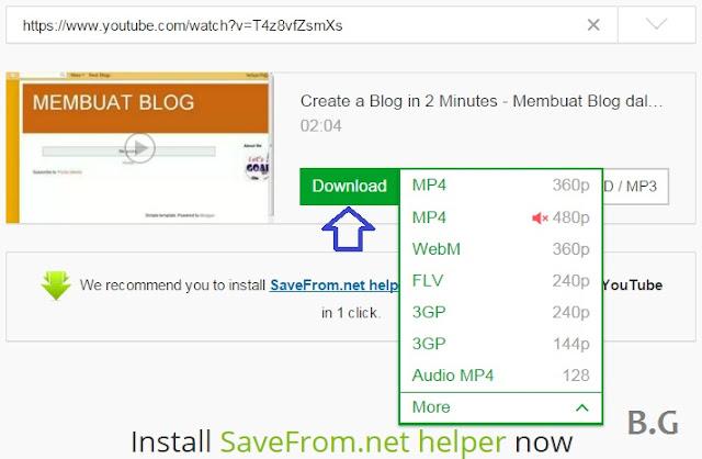 Download Video Youtube Hanya Sekali Klik